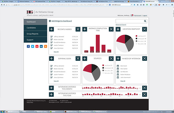 Bryan Byers  Hr Dashboard